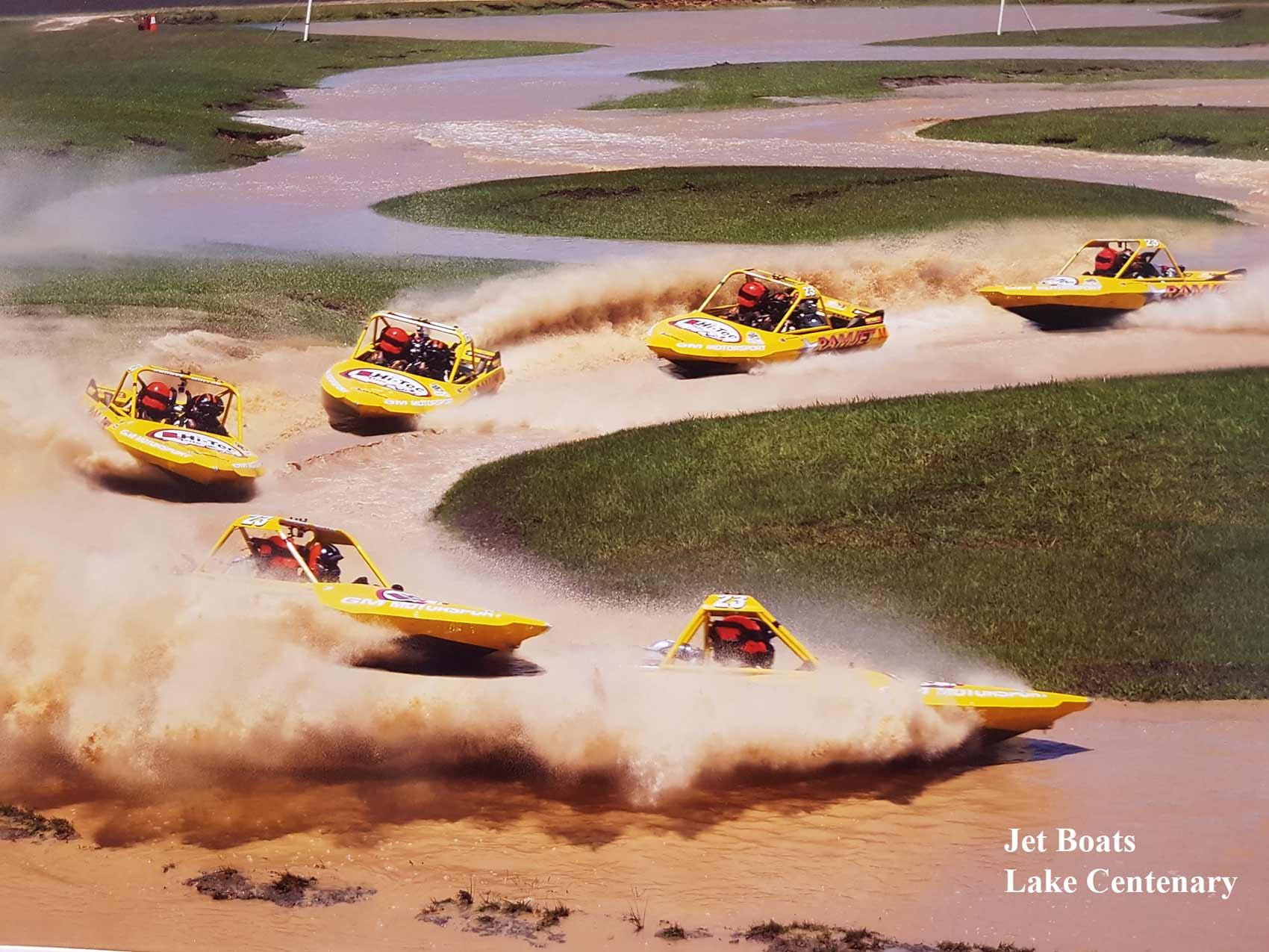 jet boats lake centenary